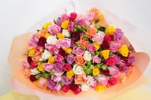 100本花束