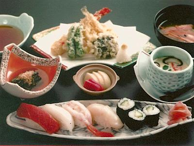 天ぷら茶碗蒸しセット