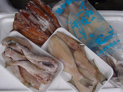 丸武鮮魚店 干物