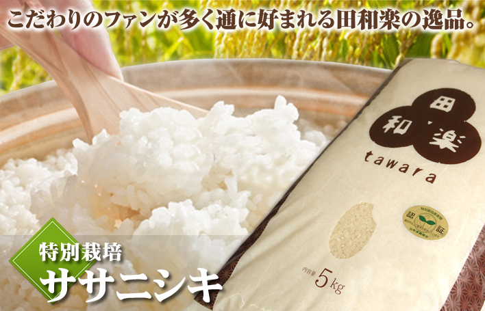 特別栽培ササニシキ