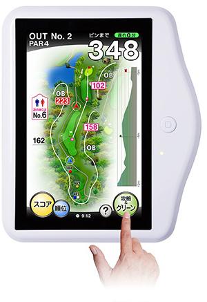 GPS付きナビ