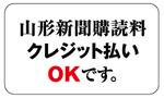 購読料クレジット払いOK