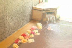 バラ風呂1