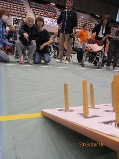 輪投げ大会3