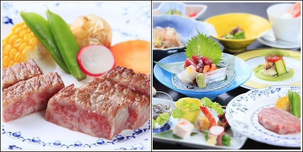 【特選会席プラン 】山形が誇る三大和牛『米沢牛』をステーキで堪能