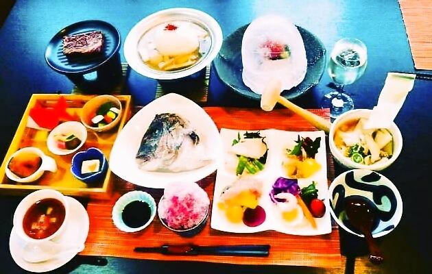9月の仲秋秋祭り料理(3,500円)