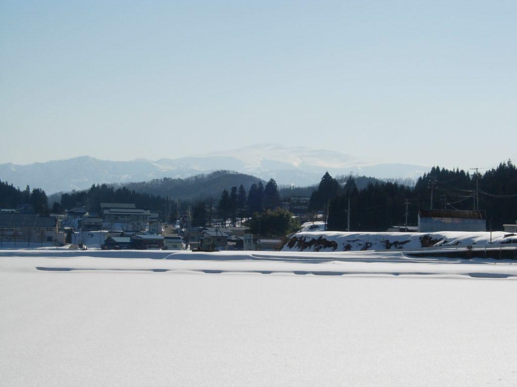 2007年2月 月山