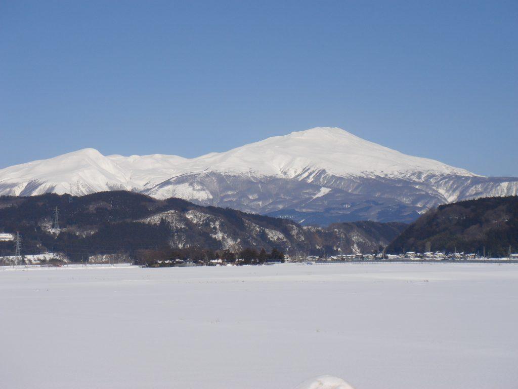 2013年2月 鳥海山