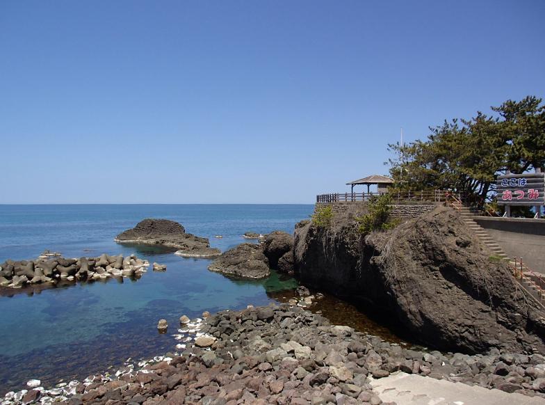 温海海岸線