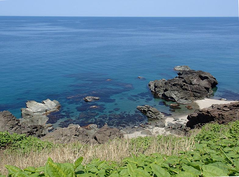 初夏の温海海岸
