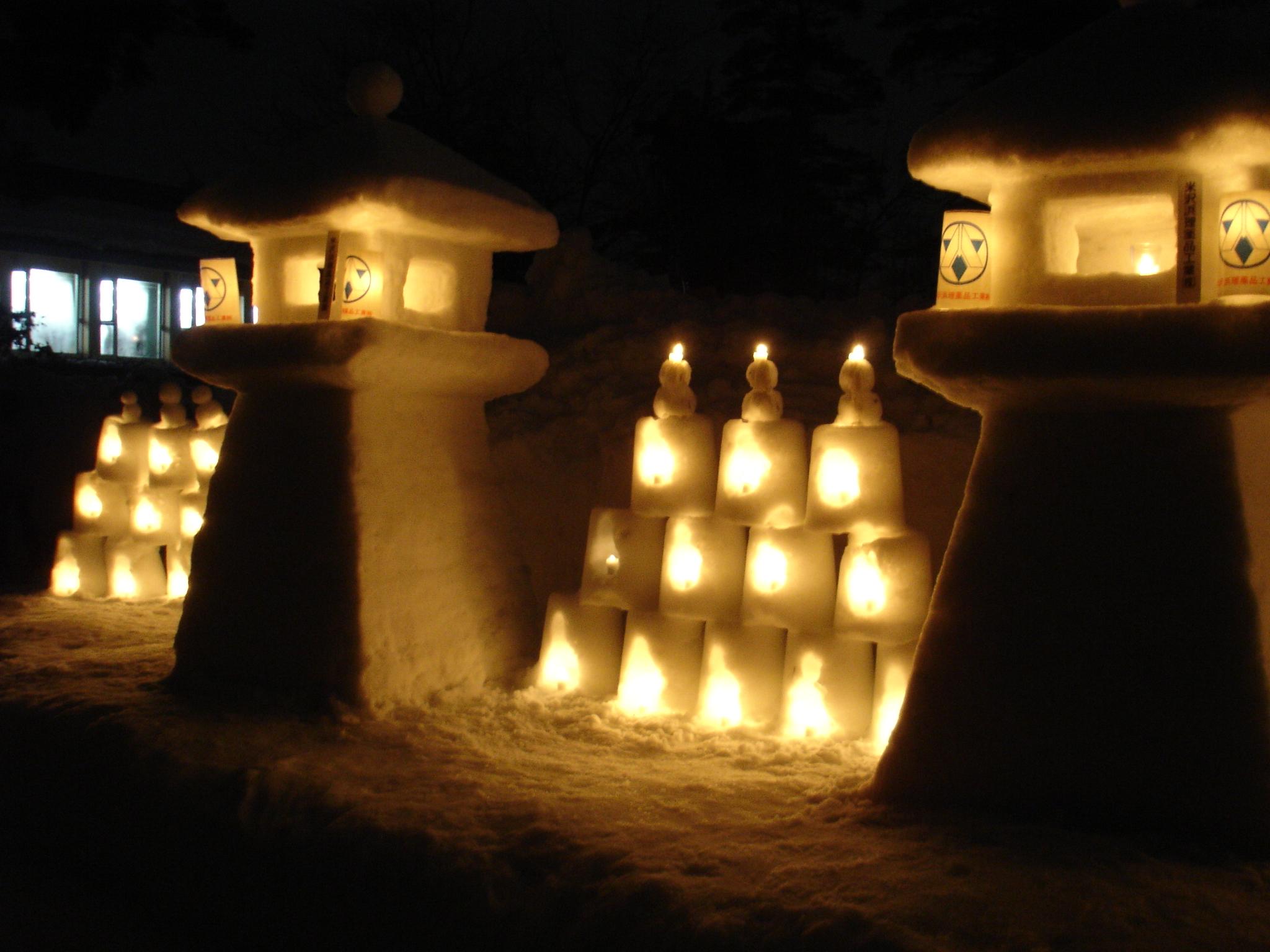 2006年2月 米沢雪灯篭