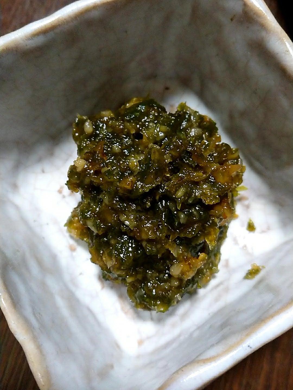 ばんけ味噌(ふきのとう味噌・鶴岡市)