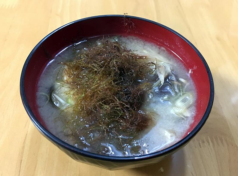 いげしの味噌汁