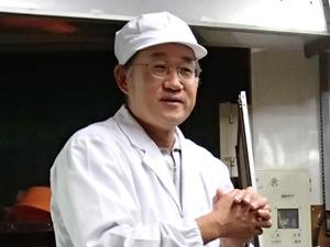 加藤嘉八郎酒造株式会社杜氏志田さん