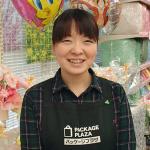 包装のプロ♪かわいい笑顔でやさしく教えてくれた横澤さん。安心して相談出来ます。